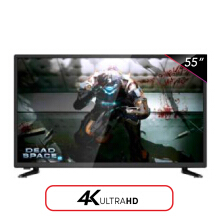 ICHIKO LED TV 55 Inch Curved 4K UHD - S5568