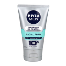 NIVEA MEN  Whitening Oil Control Facial Foam 100ml