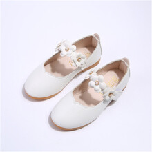 SiYing Korean girls flower princess children's shoes peas children's shoes