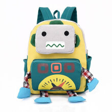 [COZIME] Cute Robot Cartoon Shape Children Backpack Student Kindergarten School Bag Others1