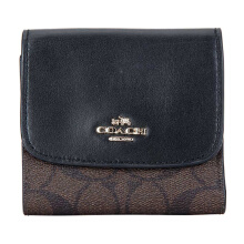 Coach Women's Short Brown Folding Wallet F87589IMAA8