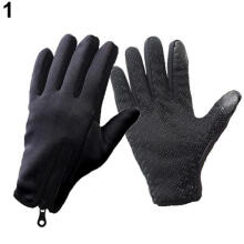 Farfi Unisex Winter Outdoor Windproof Cycling Gloves Touchscreen Glove for Smart Phone