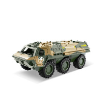 Ling speed Pull back alloy car tank armored vehicle military children's toy value suit