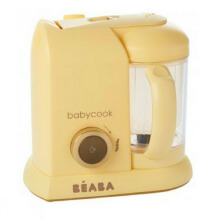 BEABA Babycook Solo Limited Edition  - Yellow Go (with SG power plug)