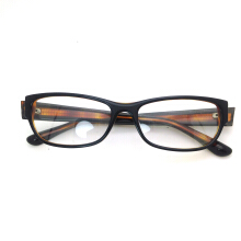 XQ-HD Accetate Optical Eyewear Women Man Rectangle Eyeglasses Computer Myopia Spectacle Frame Transparent Clear Lens -One Size - Tea