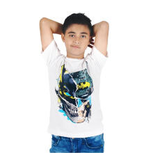 KIDS ICON - Kaos Anak Laki-laki Batman White T-Shirt - BM300400190