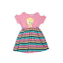 KIDS ICON - Dress Anak Perempuan LOONEY TUNES with Printing Tweety Character - LG5K0200180