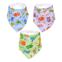 Miabelle Bandana Bib Set 3pcs FP02 - Multicolor