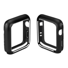 Magnetic Adsorption Metal Case for Apple iWatch Series 2 3 Watch 38/42/40/44mm Black  44MM