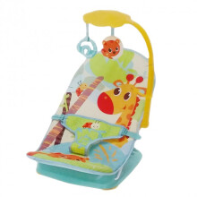[free ongkir]Mastela Fold Up Infant Seat - Green Blue Giraffe