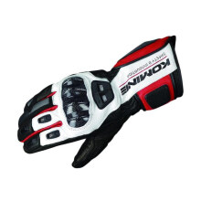 KOMINE GK-198 Carbon Protect Sarung Tangan Original - Black Red