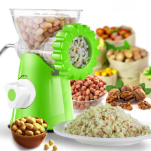 Jantens Multifunction Meat Grinder High Quality Stainless Steel Blade Machine Mincer Sausage Machine Green
