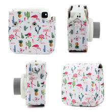 Jantens For Fujifilm Instax Mini 8 9 Instant Camera Flamingo Carrying Case Bag