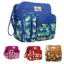 Jasmine Baby Shop - Tas Bayi Medium Diaper Bag Baby Scots Family Series 2 Bft2201 Trendy Original