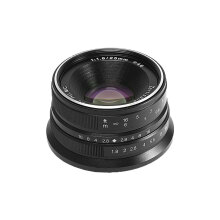 7ARTISANS 25mm f/1.8 for Fuji Black