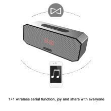 HOPESTAR P8 Portable Wireless Bluetooth Speaker TF Card Music Player Power Bank Support 1+1 Wireless Serial Function