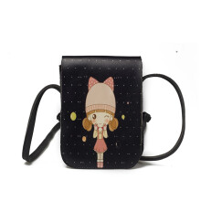 Wei's Featured Fashion Girl Pack Cute Girl Mobile Phone Bag Shoulder Bag B-TIMI208