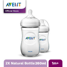 AVENT Bottle Natural 2.0 Twin Pack - 260ml SCF693/23