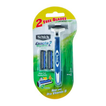 SCHICK Men System Exacta 2 System Kit (1+2 Cartridges)