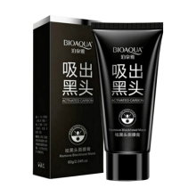 Bioaqua Carbon Active Charcoal Black Mask / Masker Pengangkat Komedo Original - 1 Pcs