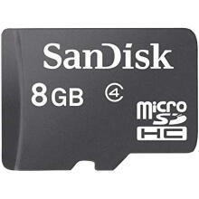 SanDisk Micro SD 8 GB Ultra Standard Class 4 Memory Card 8G