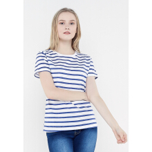FBW Reiby Full Stripe Female T-shirt - Putih