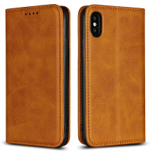 MOONMINI iPhone X PU Leather Wallet Case Card Slots Cover