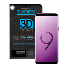 Tyrex 3D Full Cover Tempered Glass Galaxy S9 - Black