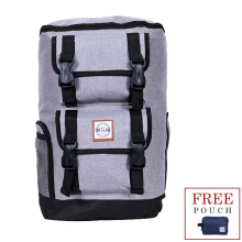 The X Woof - Splash Waterproof Urban Backpack, Tpack-O 2.0 Grey Grey