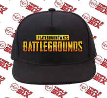 Triplesix Store - Topi Snapback Cotton Pubg Playerunknowns Battlegrounds 3D