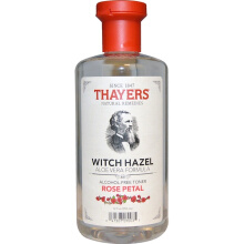 Thayers Witch Hazel Aloe Vera Formula Alcohol-Free Toner Rose Petal 12 fl oz 355 ml