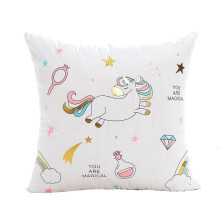 Farfi Unicorn Printed Throw Pillow Case