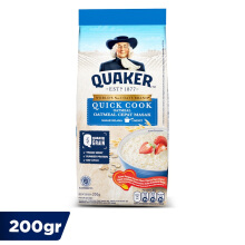 QUAKER Quick Cooking Oatmeal Small Pack 200g