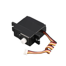 COZIME 1/18 RC Car 17g Servo A949-28 Part for Wltoys A949 A959 A969 A979 K929 Black