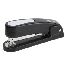 Jantens 1pcs 360 Degree Rotary Stapler With 1000pcs 24/6 staples Office Black