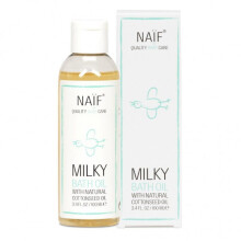 Naif Milky Bath Oil With Natural Cottonseed Oil - 100ml