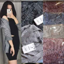 Maimun Twis Cardy - Grey - All Size