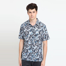 A&D Ms 1261 BAtik Short Sleeve - Blue