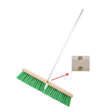 CLEAN MATIC Push Broom 45 - Hijau