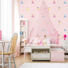 DREAM WORLD - Girl Room Glitter Princess D5108-1 ( 1.06 x 15.60m )