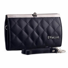 GOLFER - MEN WALLET DOMPET KASUAL WANITA - GF.2807 - BLACK