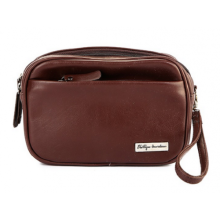PHILLIPE JOURDAN Owen Tas Pouch - Coklat