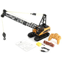 COZIME HUINA 1572 15CH RC Alloy Crane 1/14 2.4GHz Engineering Construction Truck Car Others