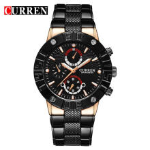 CURREN Original Watch 8006 Men's Sports Waterproof Stainless steel Male Quartz Watches