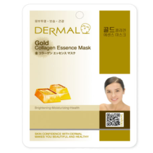 Dermal Gold Collagen Essence Mask 10pc