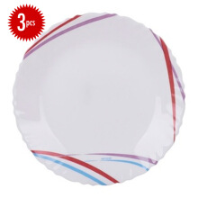 ARCOPAL Decor Malie Dinner Plate Set of  3