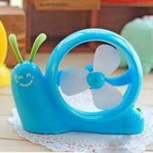 Mini lying snail fan blue household products daily life supplies Blue