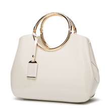 SiYing  Fashion bright patent leather handbag crossbody handbag