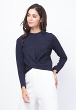Zoe Top Navy All Size