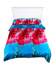 NYENYAK Magnolia Fitted Sheet / Comforter - KING/QUEEN/SINGLE